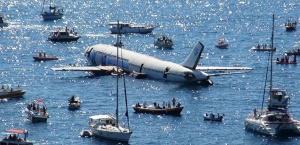 В Турции затопили самолет для привлечения туристов